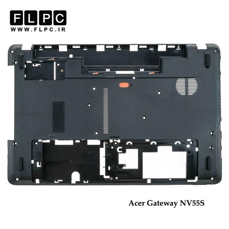 قاب کف لپ تاپ ایسر Acer Gateway NV55S Laptop Bottom Case _Cover D مشکی