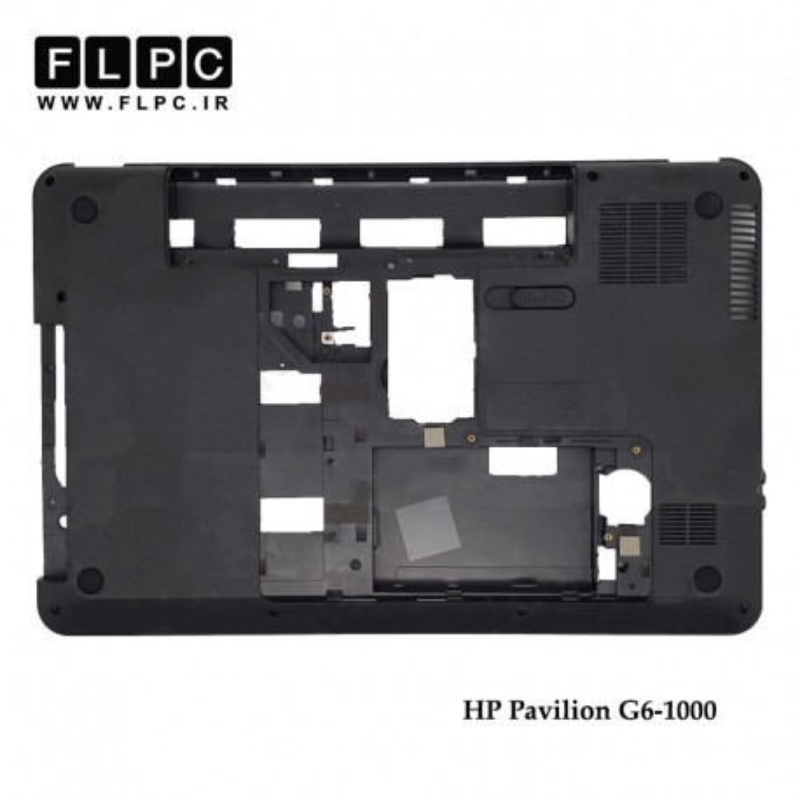 قاب کف لپ تاپ اچ پی HP Pavilion G6-1000 Laptop Bottom Case _Cover D مشکی