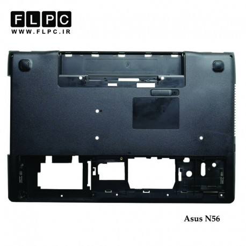 قاب کف لپ تاپ ایسوس Asus N56 Laptop Bottom Case _Cover D مشکی