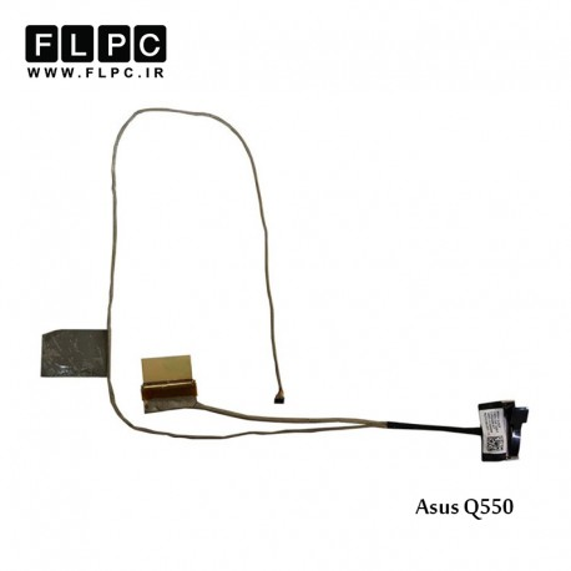 فلت تصویر لپ تاپ ایسوس Asus Q550JK-1A Laptop Screen Cable _14005-01500000-40Pin 4K-2K