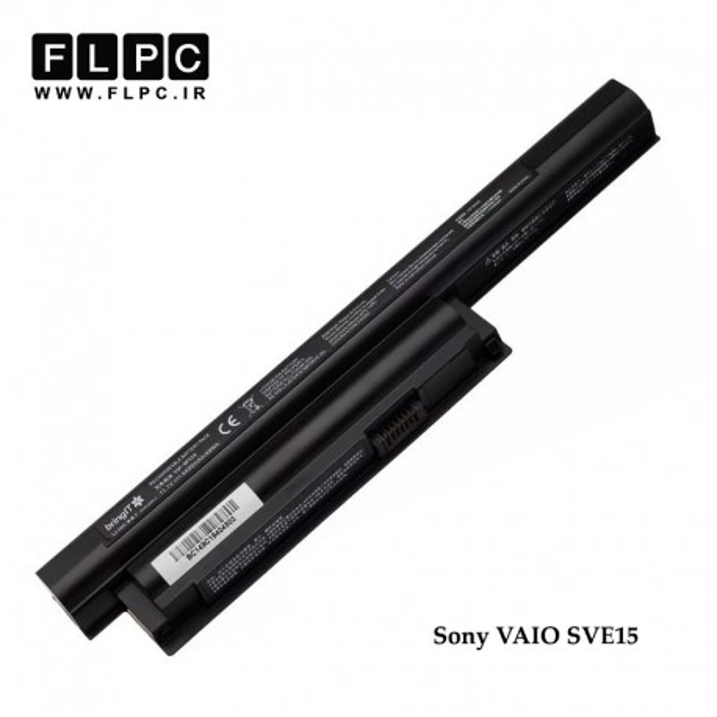 باطری لپ تاپ سونی Sony VAIO SVE15 Laptop Battery _6cell مشکی