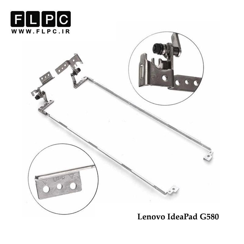 لولا لپ تاپ لنوو Lenovo IdeaPad G580 Laptop Hinges قاب پلاستیکی