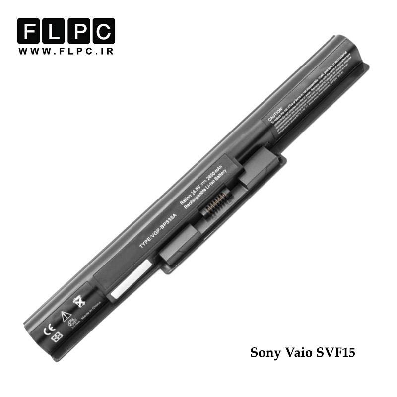 باطری لپ تاپ سونی Sony Vaio SVF15 Laptop Battery _4cell مشکی