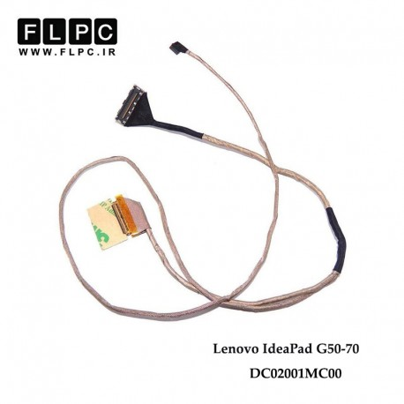 فلت تصویر لپ تاپ لنوو Lenovo IdeaPad G50-70 Laptop Screen Cable _DC02001MC00 PM وب کوتاه