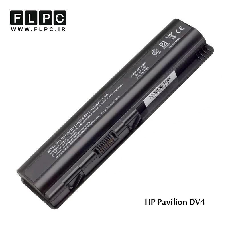 باطری لپ تاپ اچ پی HP Pavilion DV4 Laptop Battery _4000mah