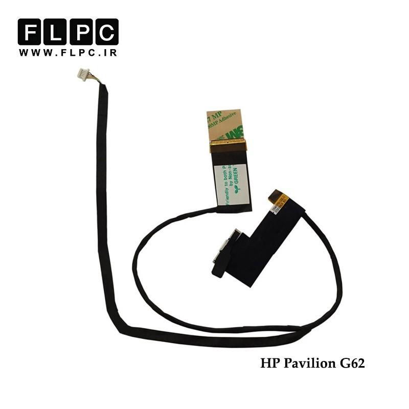 فلت تصویر لپ تاپ اچ پی HP Pavilion G62 Laptop Screen Cable _350401P00-350401C00-600-G-GEK-G سبز - باوب