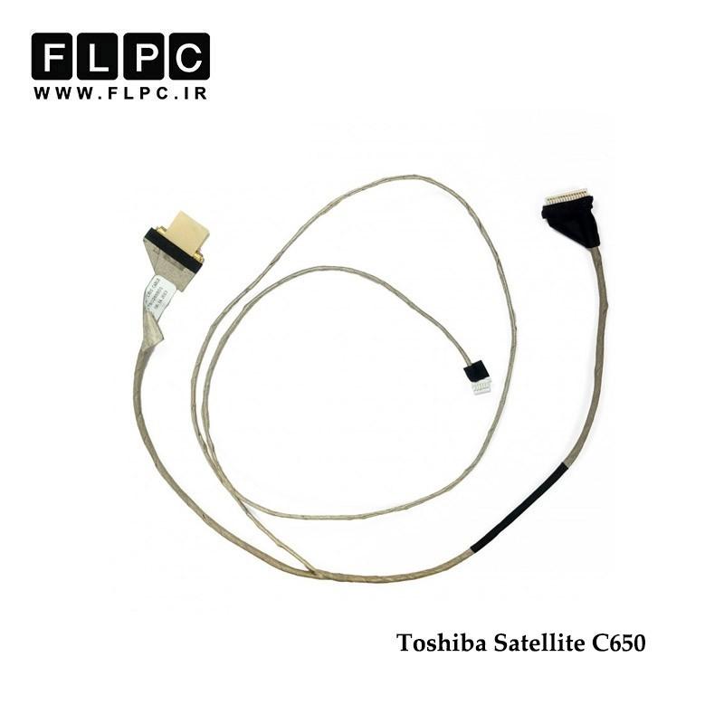 فلت تصویر لپ تاپ توشیبا Toshiba Satellite C650 Laptop Screen Cable _6017B0265501