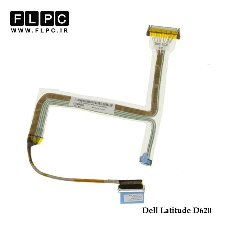 فلت تصویر لپ تاپ دل Dell Latitude D620 Laptop Screen Cable _DC02000870L