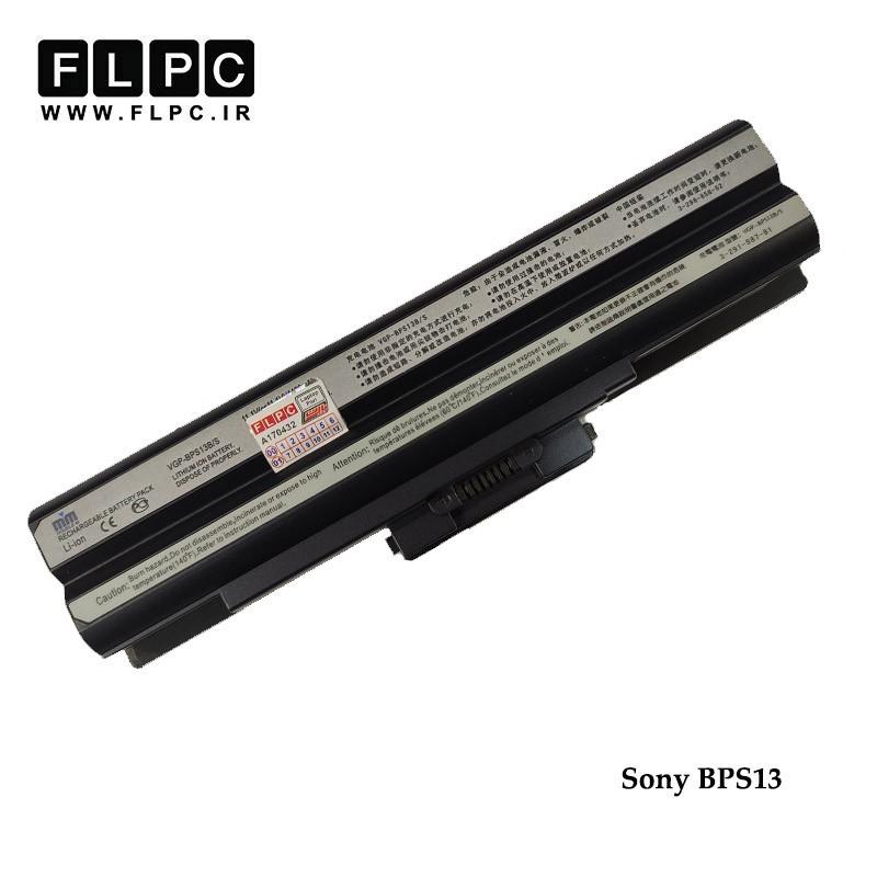 باطری لپ تاپ سونی BPS13 برند M&M مشکی Sony BPS13 Laptop Battery - 6cell