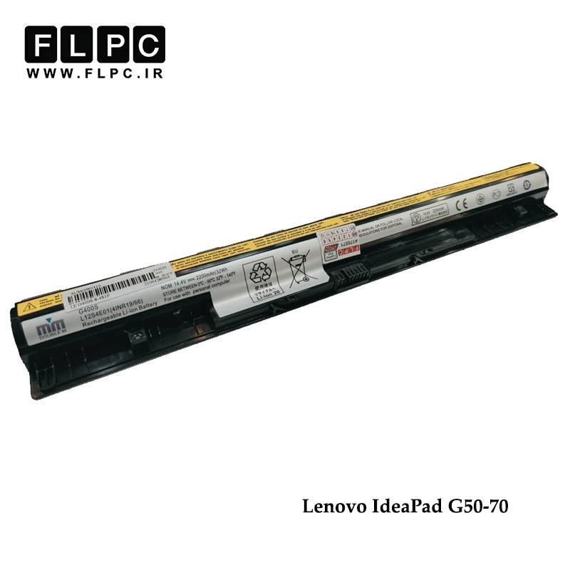 باطری لپ تاپ لنوو G50-70 برند M&M مشکی Lenovo IdeaPad G50-70 Laptop Battery _4cell