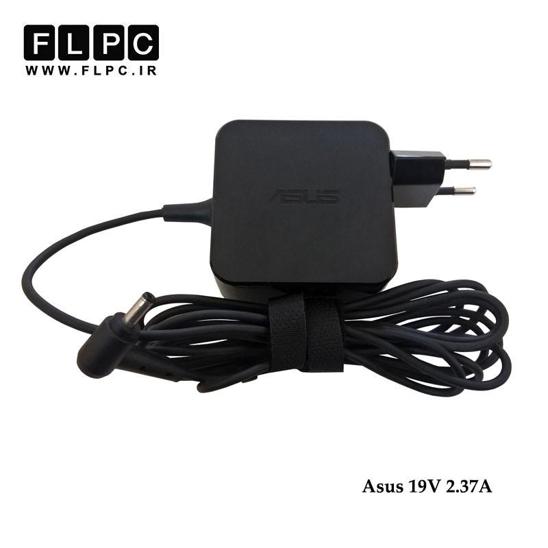 آداپتور لپ تاپ ایسوس 19 ولت 2.37 آمپر مربعی / Asus 19V 2.37A 65W Laptop Adaptor - Square