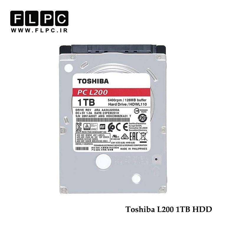 هارد ساتا لپ تاپ یک ترابایت L200 توشیبا Toshiba L200 2.5Inch 1TB Sata HDD