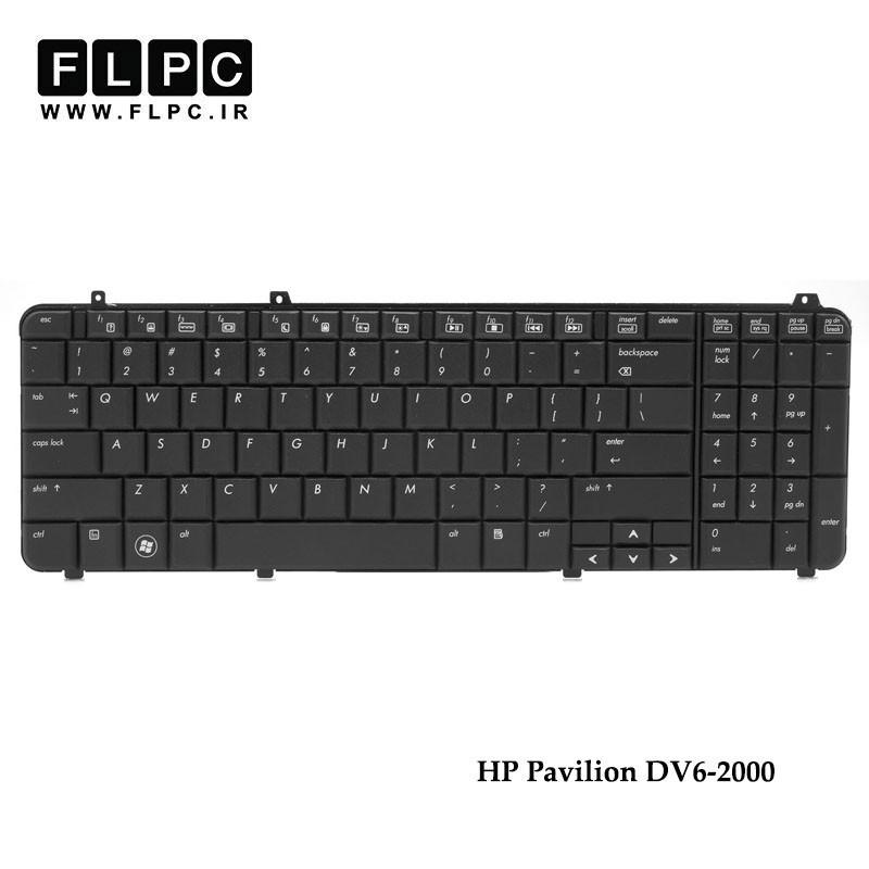 کیبورد لپ تاپ اچ پی DV6-2000 مشکی HP Pavilion DV6-2000 Laptop Keyboard