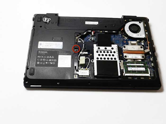 آموزش تصویری تعویض DVD-ROM لپ تاپ لنوو - لپ تاپ پارت